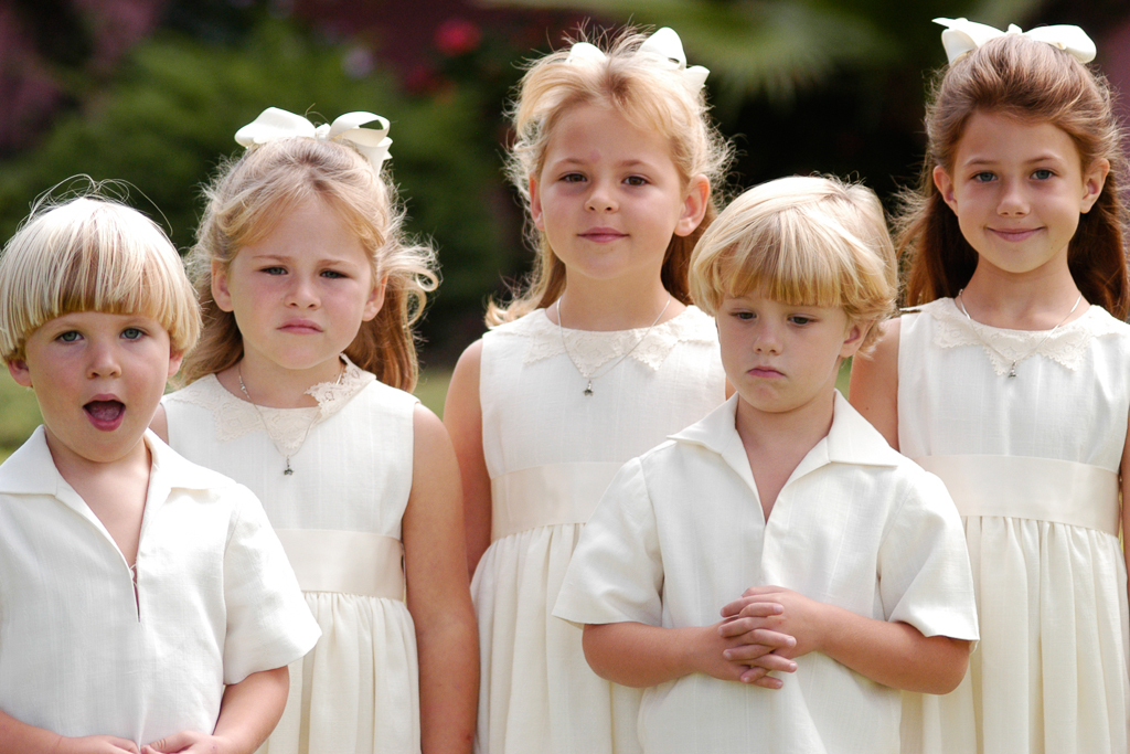 Flower Girl, Ring Bearer and other cute kids