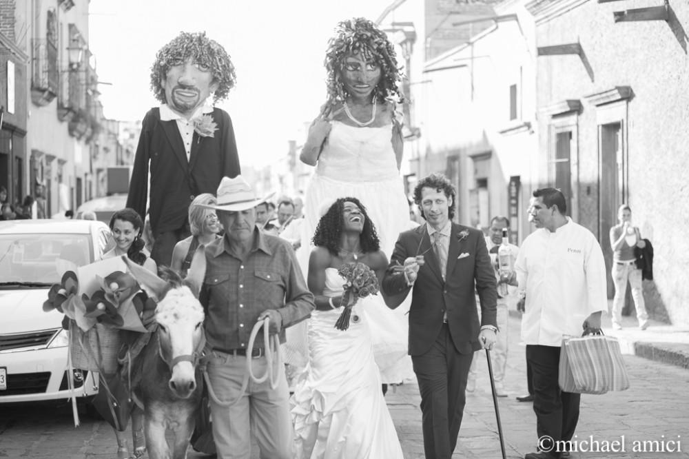 Callejoneada de la boda