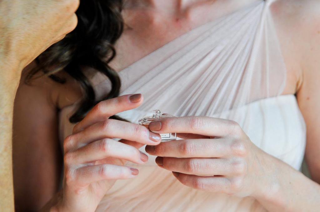 Bride & perfume