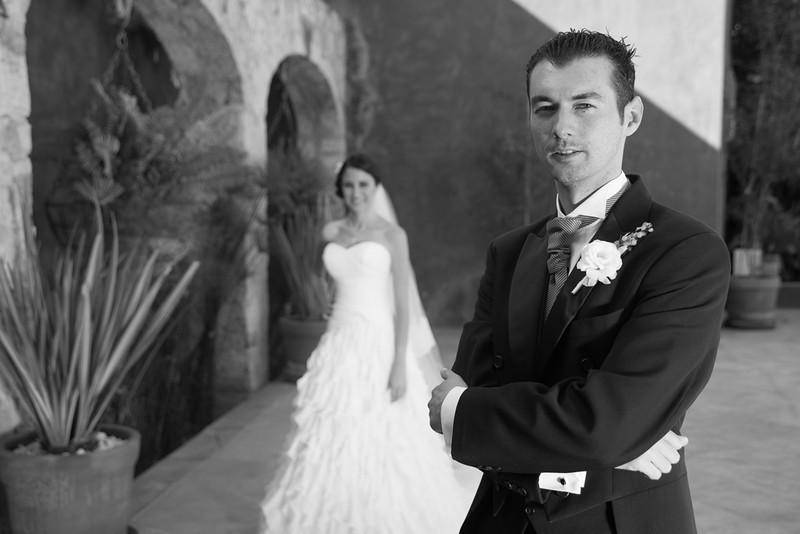 Retrato del boda