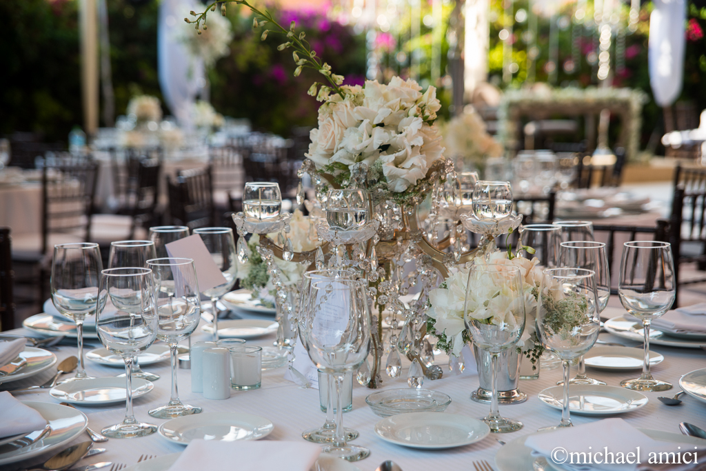 White themed wedding